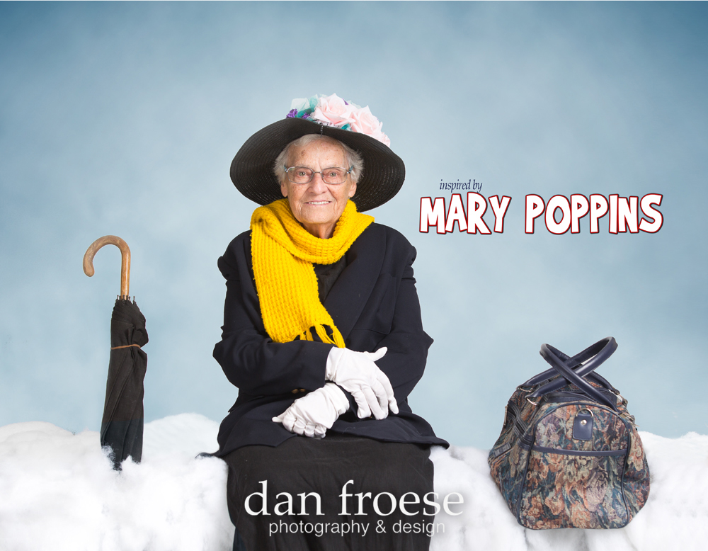 Mary Poppins-Inspired by the Stars - A collaborative project of Mountain Lea Lodge, The Meadows ARC, and Dan Froese Photography