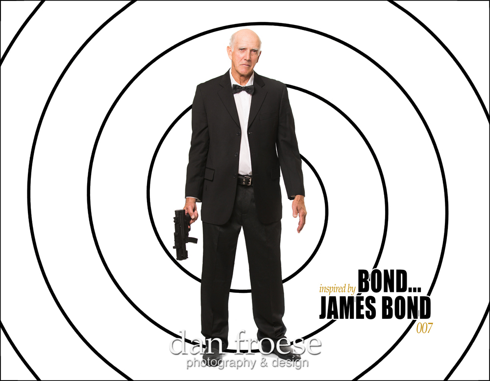 James Bond - Inspired by the Stars - A collaborative project of Mountain Lea Lodge, The Meadows ARC, and Dan Froese Photography