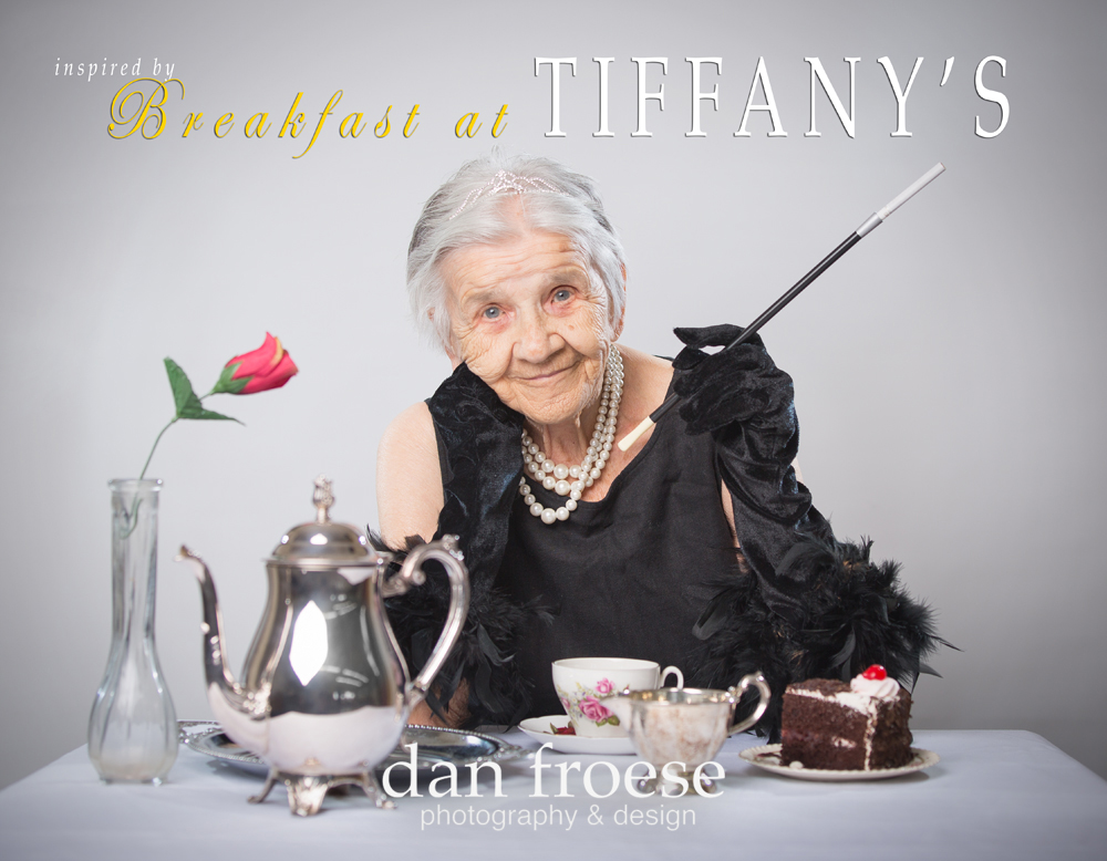 Breakfast at Tiffany's  - Inspired by the Stars - A collaborative project of Mountain Lea Lodge, The Meadows ARC, and Dan Froese Photography
