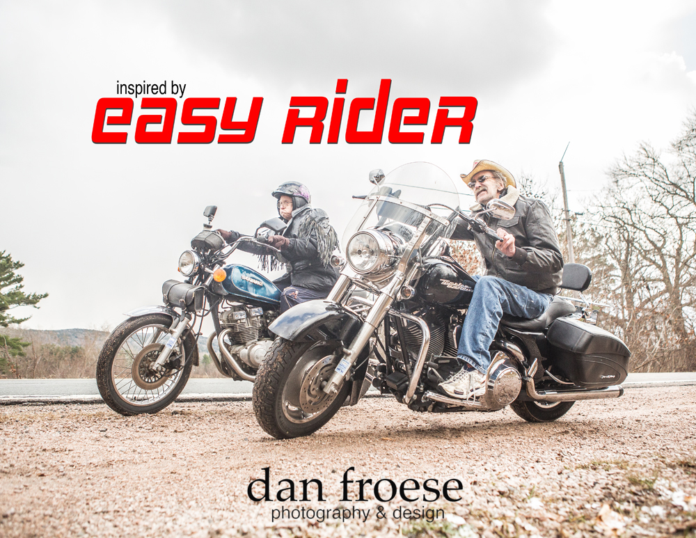 Easy Rider  - Inspired by the Stars - A collaborative project of Mountain Lea Lodge, The Meadows ARC, and Dan Froese Photography