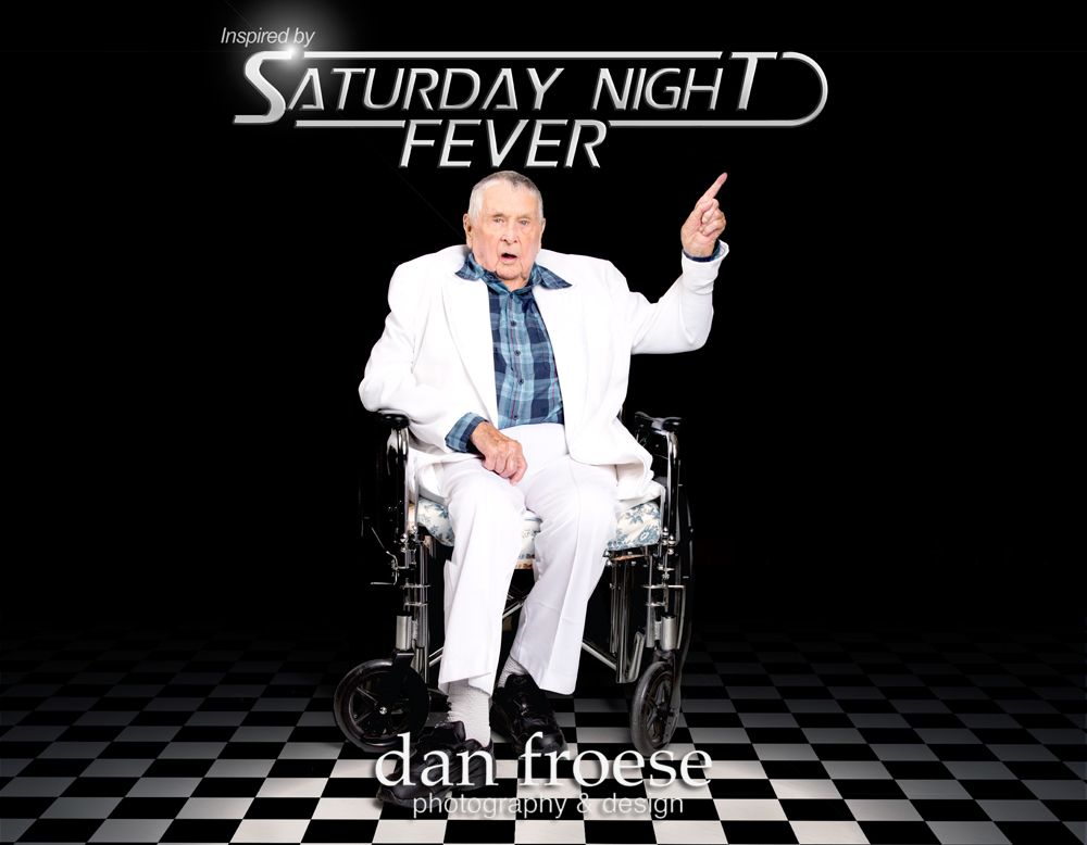 Saturday Night Fever  - Inspired by the Stars - A collaborative project of Mountain Lea Lodge, The Meadows ARC, and Dan Froese Photography